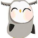 Lil Grey Owl by annieclayton