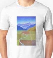 Canterbury Plains from Above Unisex T-Shirt
