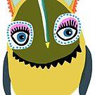 Eyelashes Owl by annieclayton