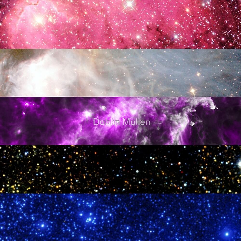 LGBT Galaxy: Genderfluid by Dublin Mullen