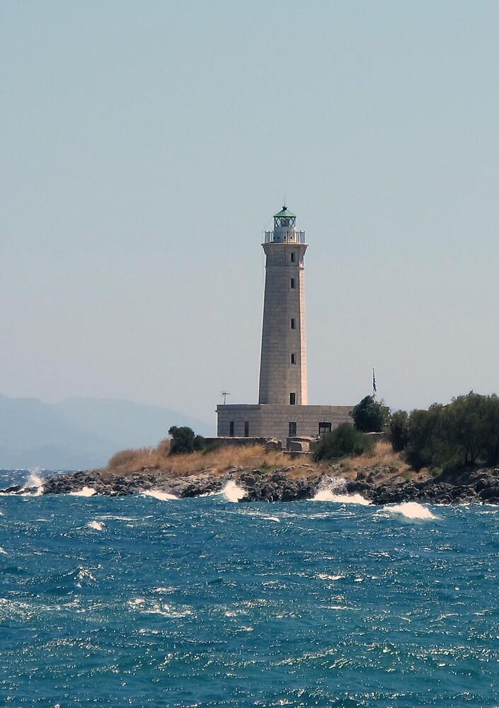 The Lighthouse of Gytheio by elenkalo