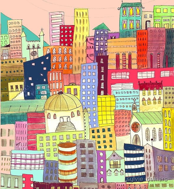 downtown by sylvie  demers