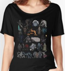 Bloodborne bosses Women's Relaxed Fit T-Shirt