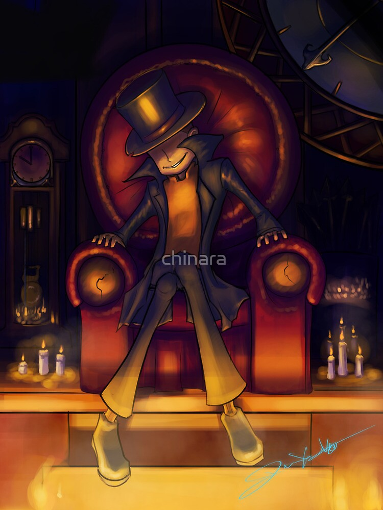 Genius is just one step short of Insanity by chinara