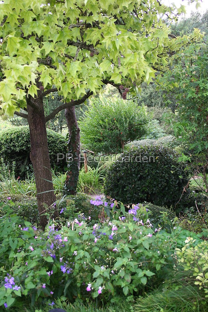 Zen Garden #4 - Drôme - France by PB-SecretGarden