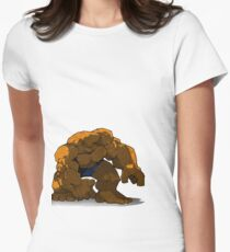 Clobberin' Time Women's Fitted T-Shirt
