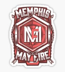 Memphis May Fire Shield Sticker
