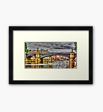 River Ouse York Framed Print