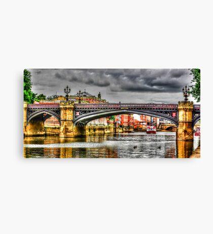 River Ouse York Canvas Print