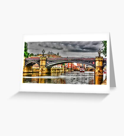 River Ouse York Greeting Card