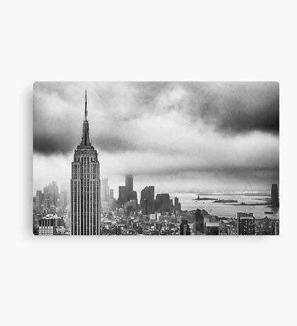 New York - Empire State Building Canvas Print