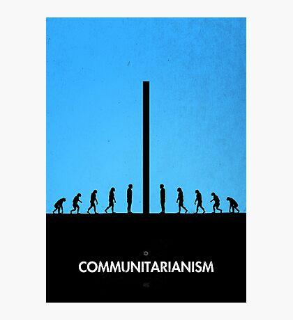 99 Steps of Progress - Communitarianism Photographic Print