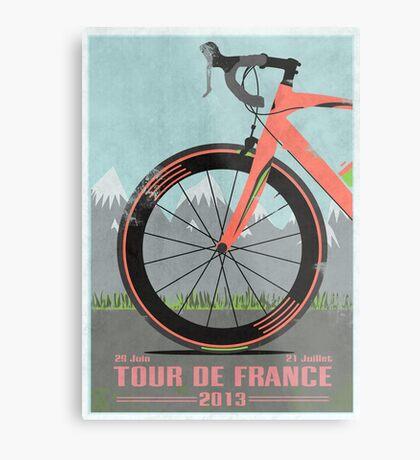 Tour De France Bike Metal Print