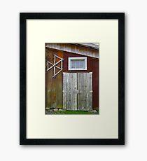 Artists Barn Studio Framed Print