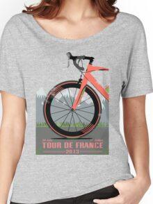 Tour De France Bike Women's Relaxed Fit T-Shirt
