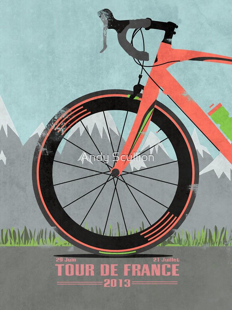 Tour De France Bike von AndyScullion