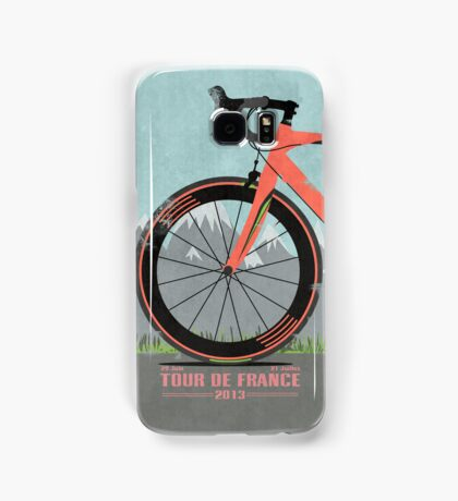 Tour De France Bike Samsung Galaxy Case/Skin