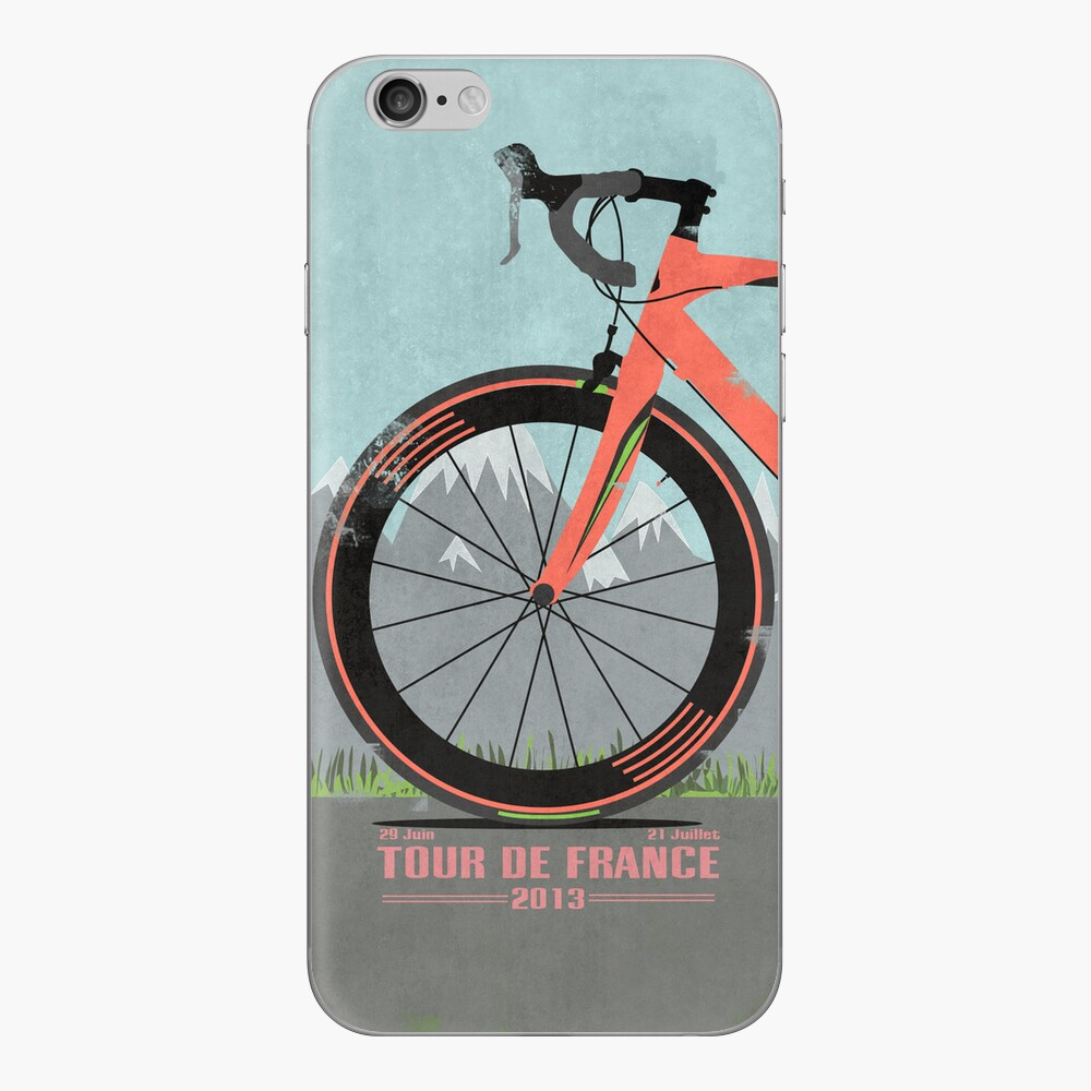 Tour De France Bike iPhone Klebefolie