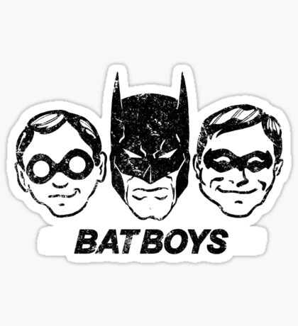 Bat Boys Sticker