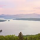 Gorgeous Panoramic Landscape Maine by Sarah Van Geest