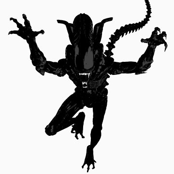 Alien Xenomorph by spaceman300