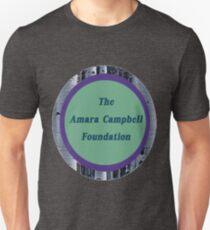 The Amara Campbell Foundation Logo Round Unisex T-Shirt