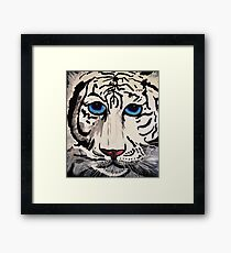 TIGER THE WILD CAT Framed Print