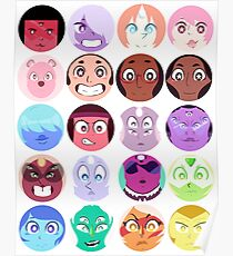 Steven Universe - (Updated) Cast Pattern! Poster