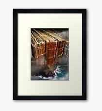 Cliffhanger Framed Print