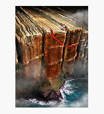 Cliffhanger Photographic Print