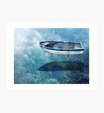 Ghost Boat Art Print