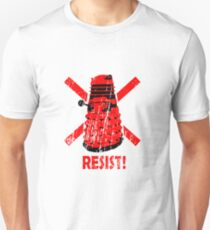 Resist the Daleks! T-Shirt