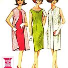 Mc Calls 'CHICKIE' Pattern 7819 : Early 1960's by Lisa Defazio