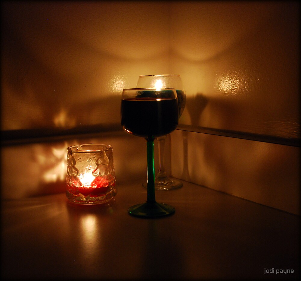 Wine And Candles by jodi payne