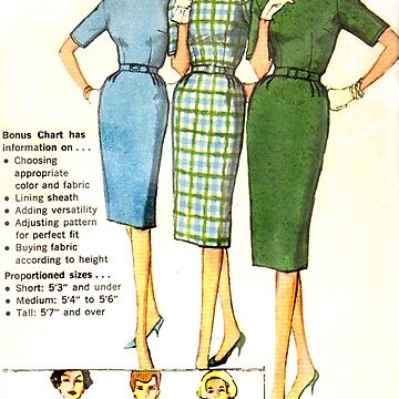 Simplicity Pattern 3574 : Circa Mid 1950's  by GLAMAZON