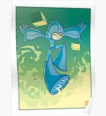 The Blue Bomber Poster