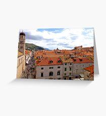 Dubrovnik, Croatia Grußkarte