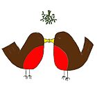 Snogging Robins by Jennifer Kilgour