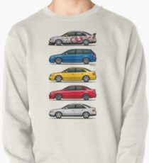Stack of Audi A4 B5 Type 8d Pullover Sweatshirt