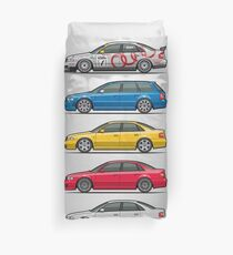 Stack of Audi A4 B5 Type 8d Duvet Cover