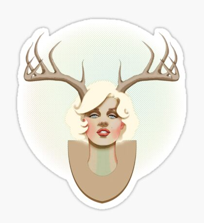 Dear Marilyn Sticker