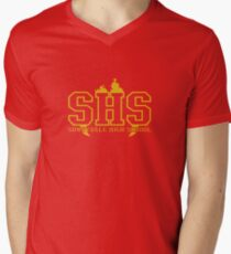 sunnydale high school deluxe Men's V-Neck T-Shirt