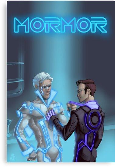 Mormortron by artcrystals