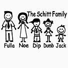 The Schitt Family by thatstickerguy