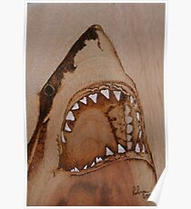 PYROGRAPHY: Shark's Teeth Poster