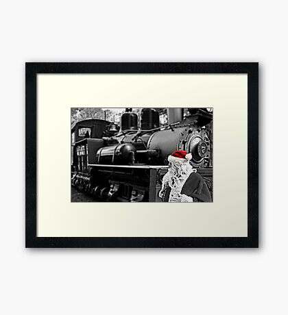 Ol' Number 7 and Claus Framed Print
