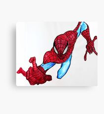 Web Head Canvas Print