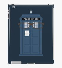 Doctor Who glasses TARDIS tenth doctor iPad Case/Skin
