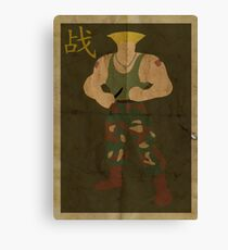 FIGHT: Street Fighter #2: Guile Canvas Print