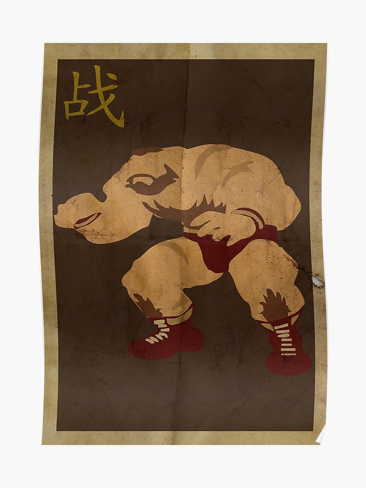 FIGHT: Street Fighter #2: Zangief | Poster